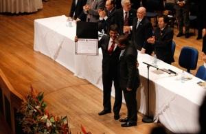Diplomacao de Haddad e 55 vereadores em SP
