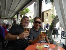 Vagner e Eduardo em Taormina