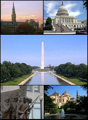 Washington, DC capital dos USA