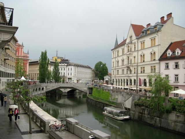 Liubliama - capital da Eslovenia