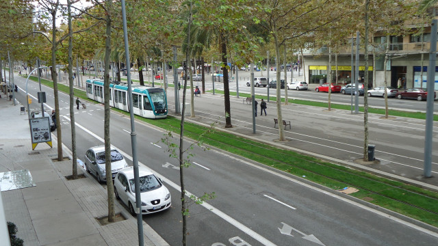 foto monotrilho Barcelona