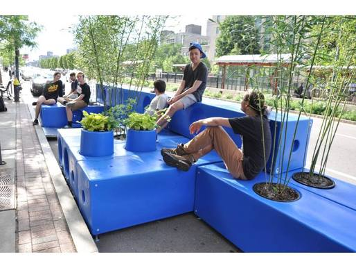 pARKLET EM bOSTON usa