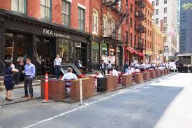 Parklet em New York
