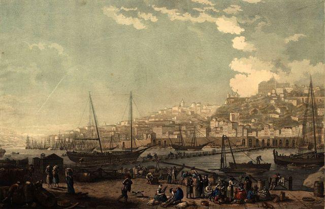 1024px-Vue_de_la_ville_et_du_port_de_Porto_1817_Henry_L'Eveque