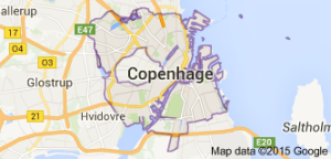 Copenhague, na Dinamarca,1
