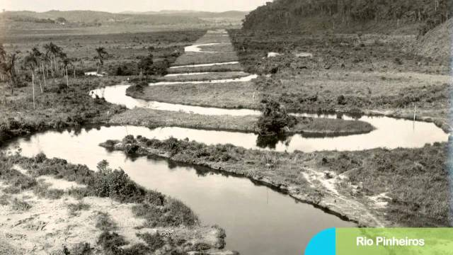 Rio Pinheiros inicio do século